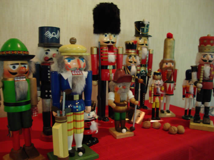 Sampling of nutcracker collection